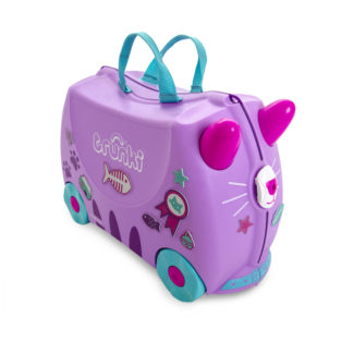 Trunki Cassie the Cat Rejsekuffert, perfekt børnekuffert til alle slags rejser.