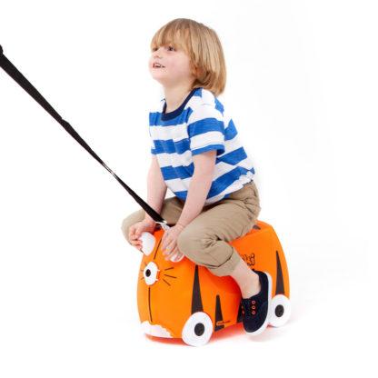 Trunki rejsekuffert, perfekt børnekuffert til alle slags rejser.