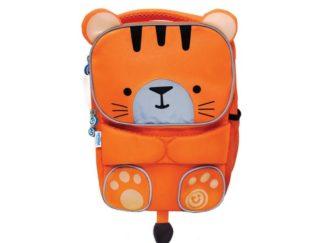 Mød Tipu the Tiger, den stribede toddlepak rygsæk, der er hyggelig og praktisk til vuggestue, børnehave og alle slags udflugter!