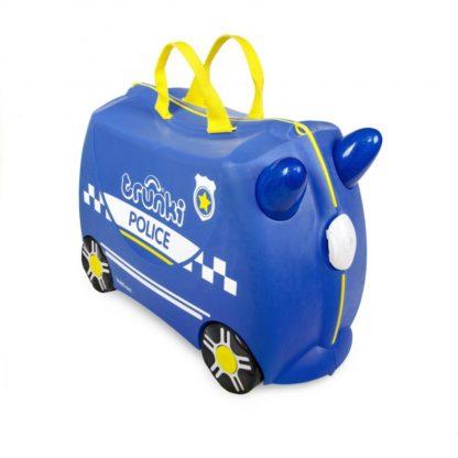 Trunki Percy the Police Car. set forfra uden klistermærker.