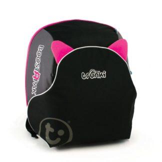 Trunki BoostApak selepude og rygsæk i pink set forfra