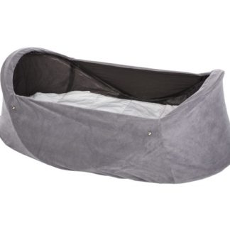 Deryan Travel Cot Infant Grey set forfra