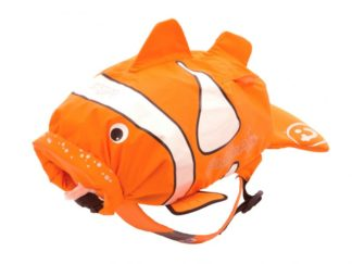 Trunki PaddlePak Clownfish rygsæk i orange set forfra