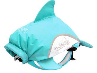 Trunki paddlePak Dolphin rygsæk i blå set forfra