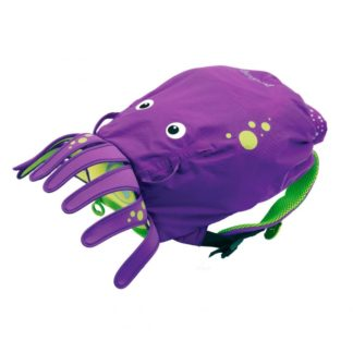 Trunki PaddlePak Octopus rygsæk i lilla set forfra