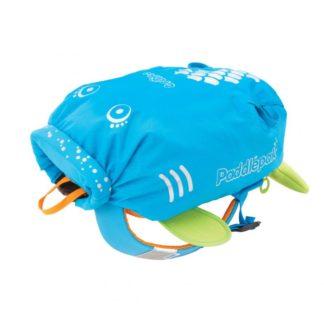Trunki PaddlePak rygsæk i blå set forfra